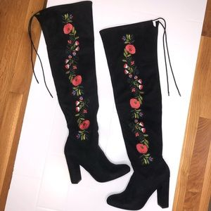 ⚡️HP⚡️MERONA / floral boots